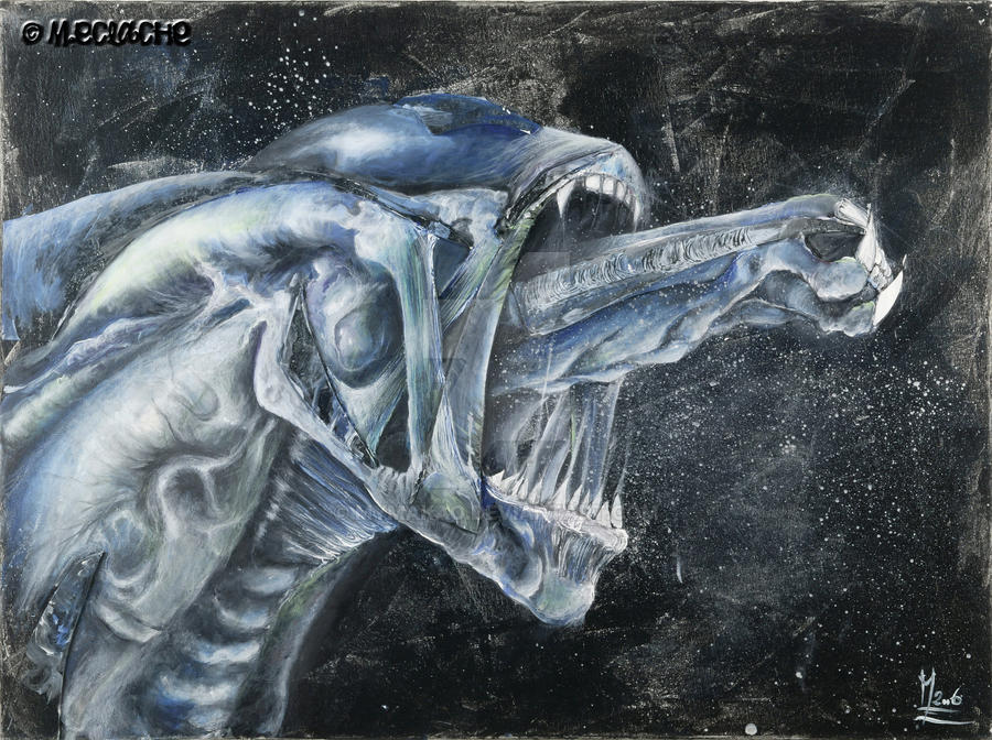 Tribute To : Giger's creature by Mymakao