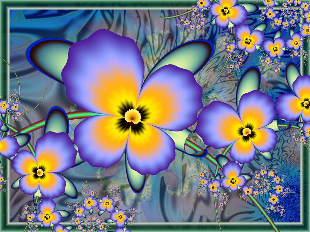 Viola (Pansy) by Iwuchska