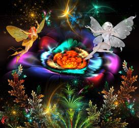Magical creatures by Iwuchska