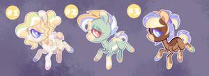 Chibi Pony Adopts [3/3 OPEN]
