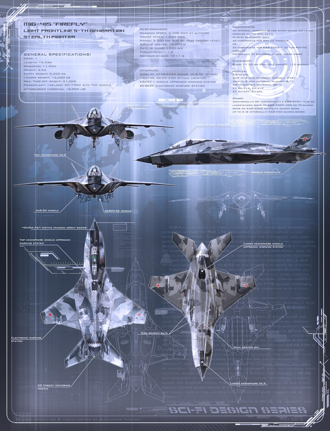 MiG-41 profile by ABiator