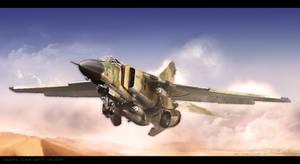Over Libya by RenderDock