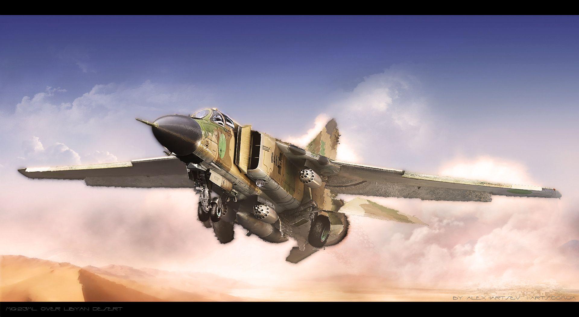 Over Libya