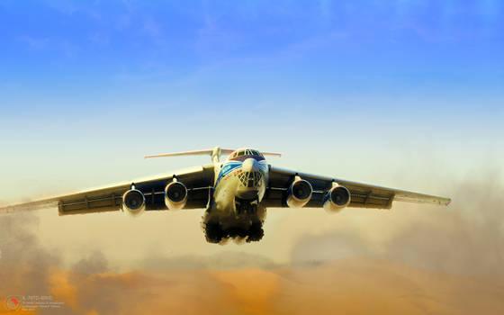 Il-76TD-90VD 'Vladimir Kokkinaki'