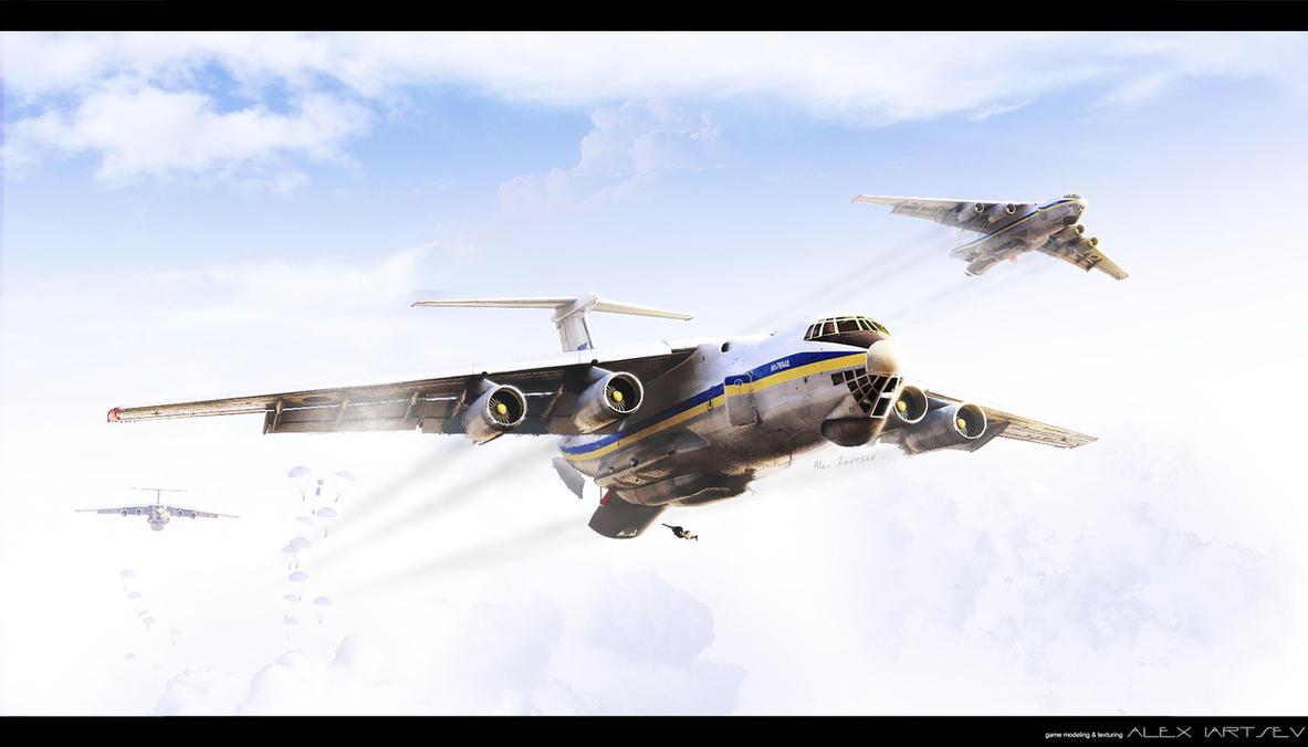 Ukrainian AF Il-76MD by ABiator