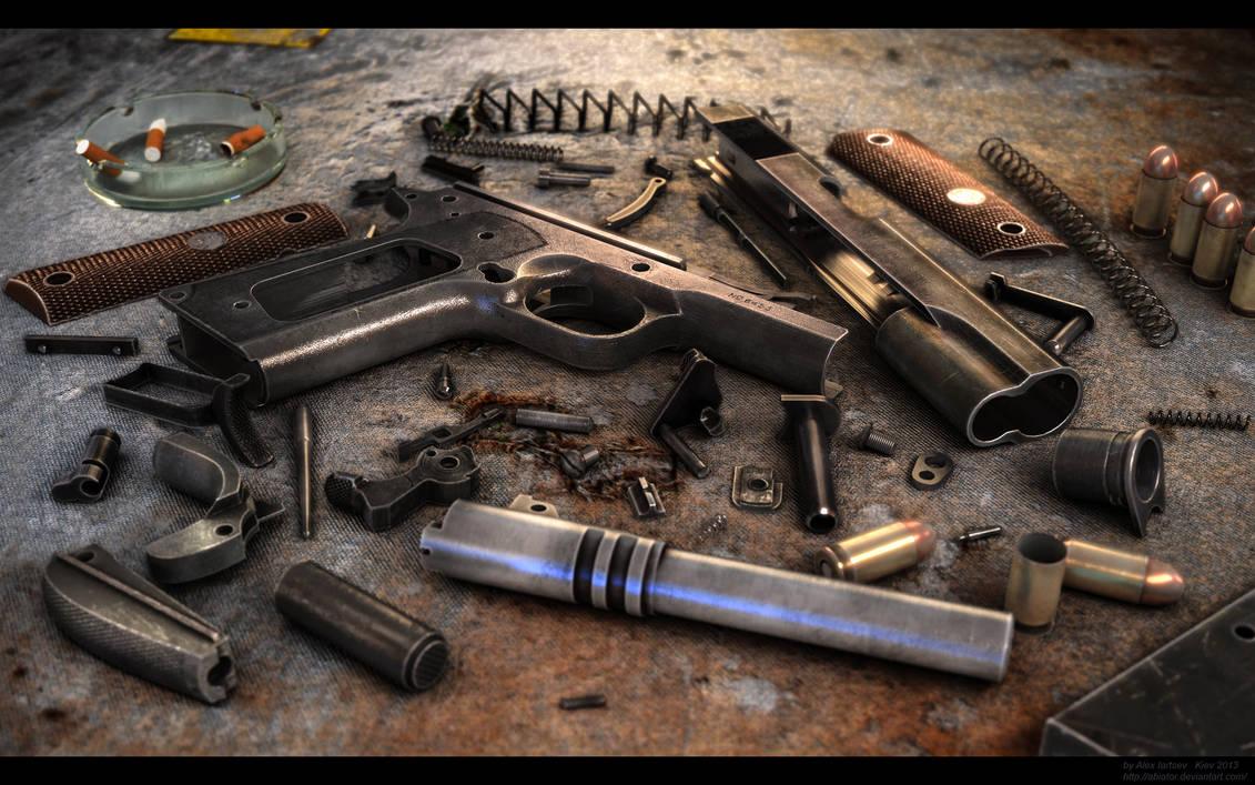 Colt 1911 by RenderDock on DeviantArt