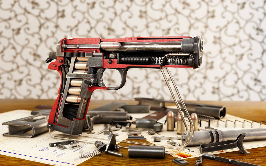 Colt cutaway by RenderDock