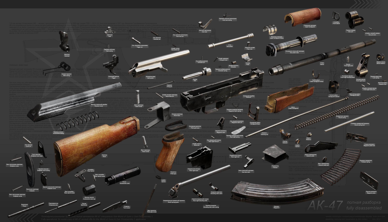 Ak-47 explosion diagram by ABiator on DeviantArt
