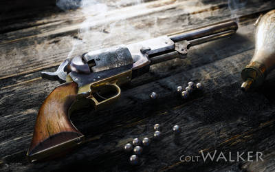 Colt Walker by RenderDock