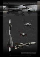 R-40TD missile by RenderDock