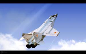 Kazakhstan AF MiG-31B by RenderDock