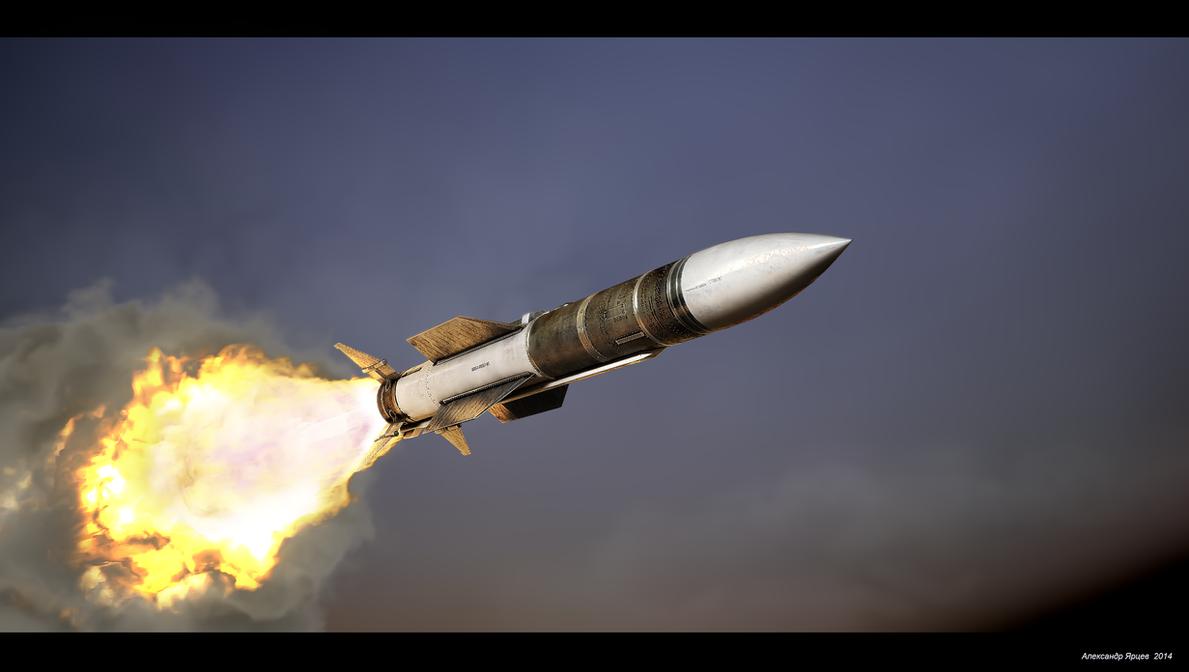 R-37 (AA-13 Arrow) engine start by ABiator