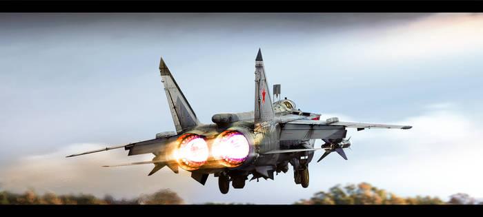 Afterburner 304 kN