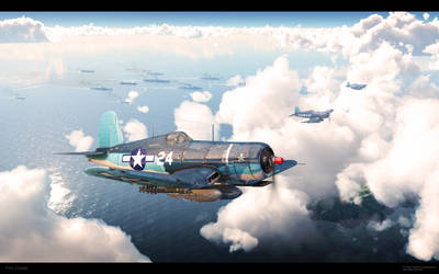 Armada. F4U Corsair. by RenderDock