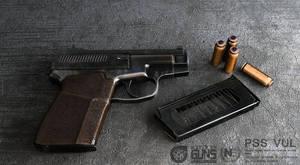Silent death. Special pistol PSS VUL