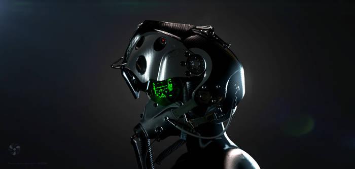 Ultimate Predator. W.A.S.P. pilot helmet
