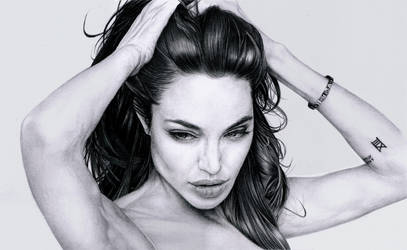 Angelina Jolie by marcbalbi