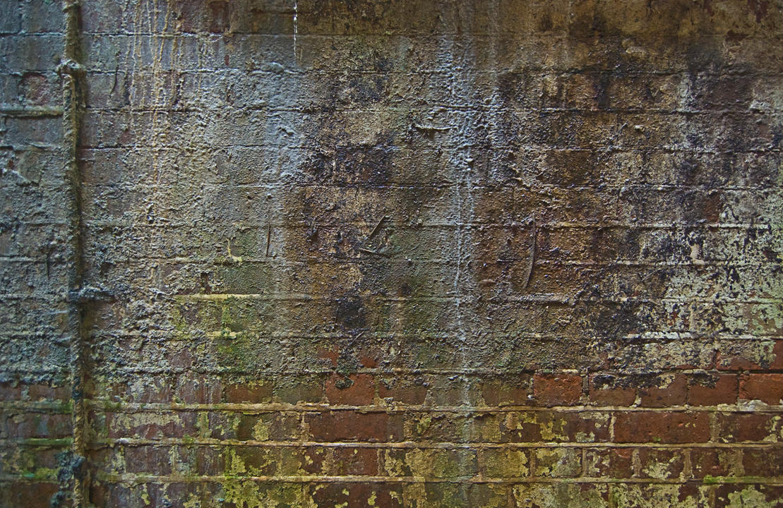 Water Damaged Bricks by MartinIsaac