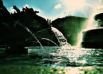 Sunlit Fountain