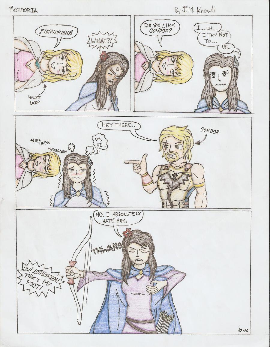 Mordoria: Do You Like Gondor? Color by acklaygohome