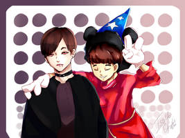 BTS Halloween 2015- 95z by IsoChi