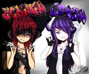 O.C- Online Evils {Isoya ft Zekuna} by IsoChi