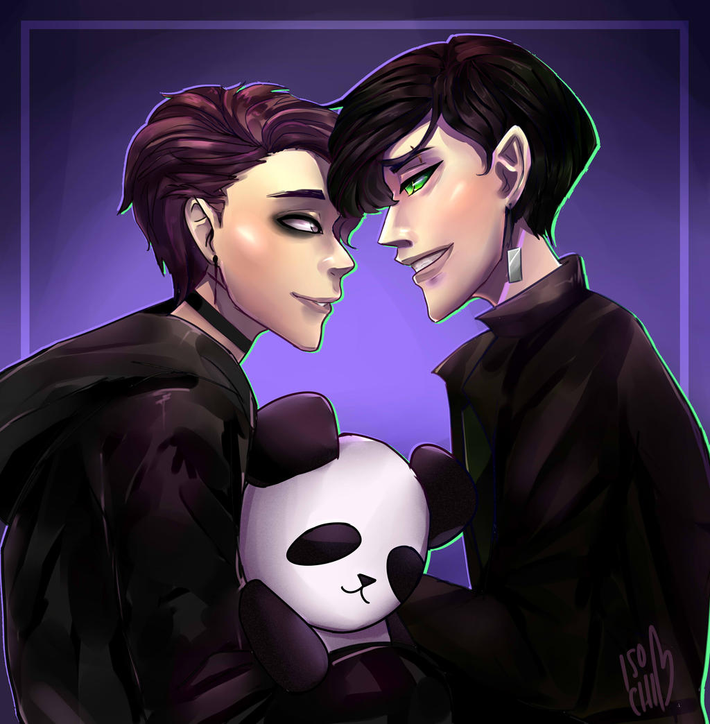 {AT} Hikaru and BeiBei by IsoChi
