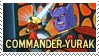 Commander Yurak Stamp by Cheeezey