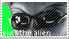 elvis the alien stamp by samfromundertale
