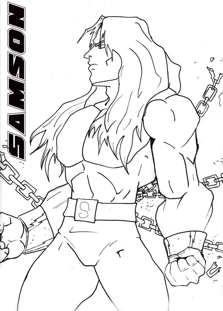 Bible Super Heros Samson By CHayden1 On DeviantArt