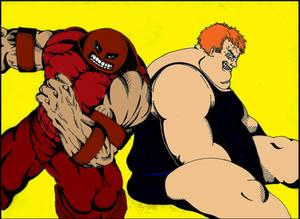Juggernaut vs Blob: Colorization