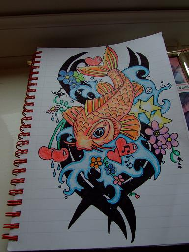 Koi Carp Tattoo by ~XxDannyMaytexX on deviantART koi carp tattoo.