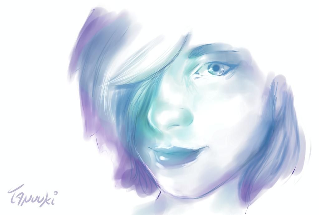 Selfportrait by StuffedPolarFox