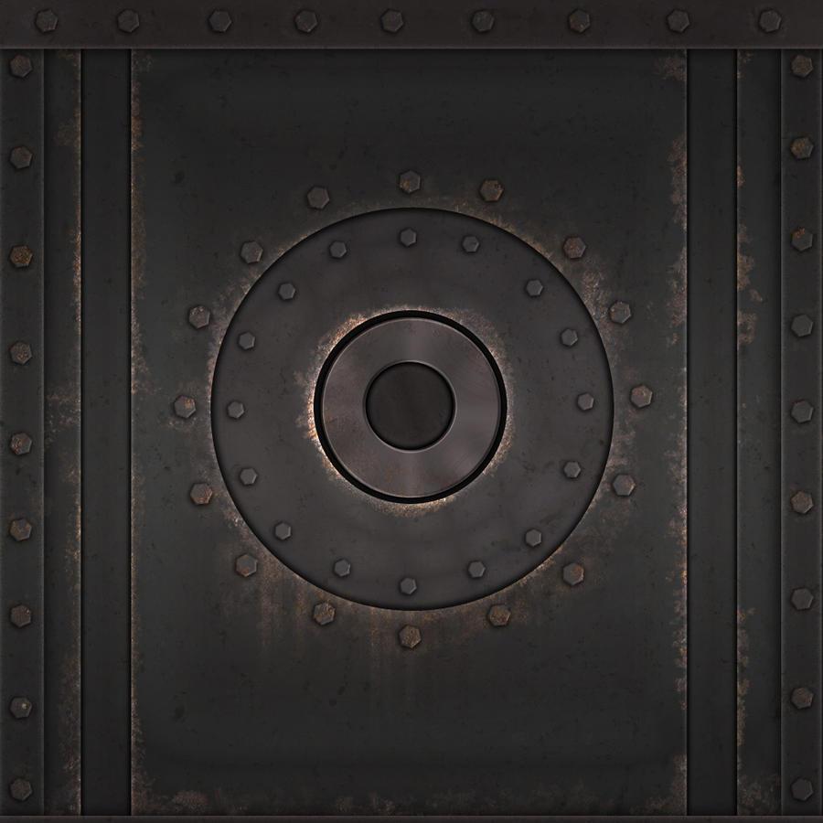 industrial metal panel texture set by studio skye