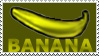 Banana Stamp by JenL