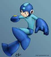 Little Blue Bomber by JenL
