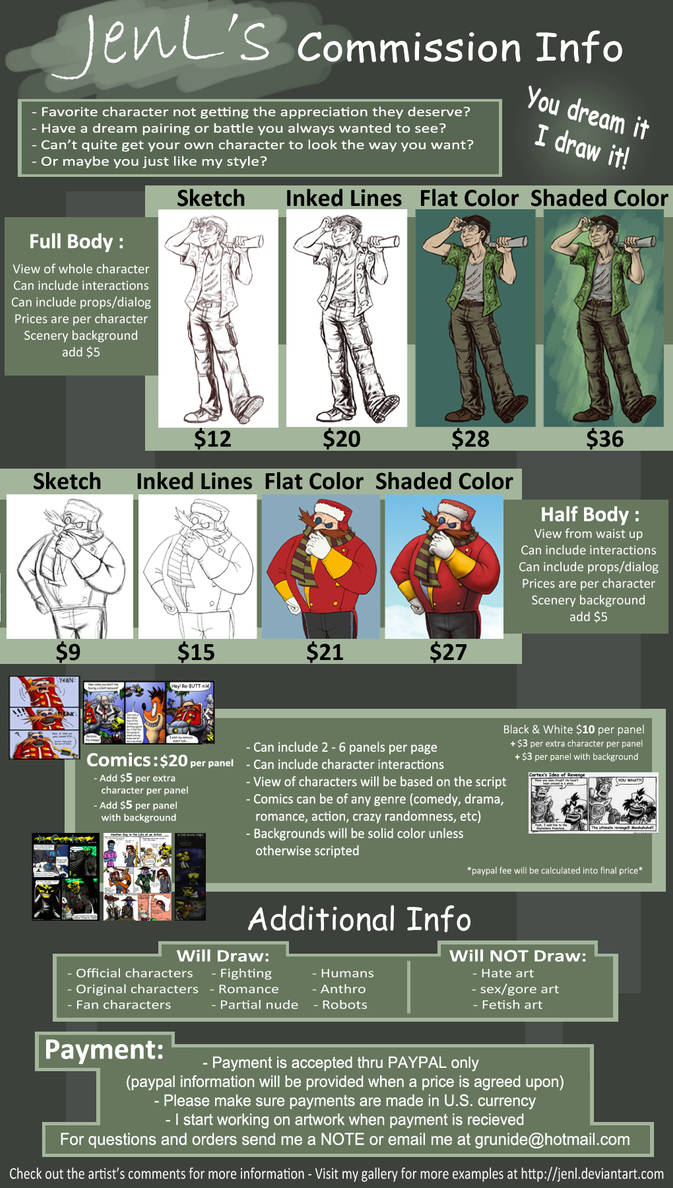 Commission Information - OPEN