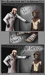 Why Scarecrow isn't in Arkham City