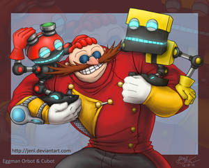 Sonic Boom - Eggman Orbot and Cubot