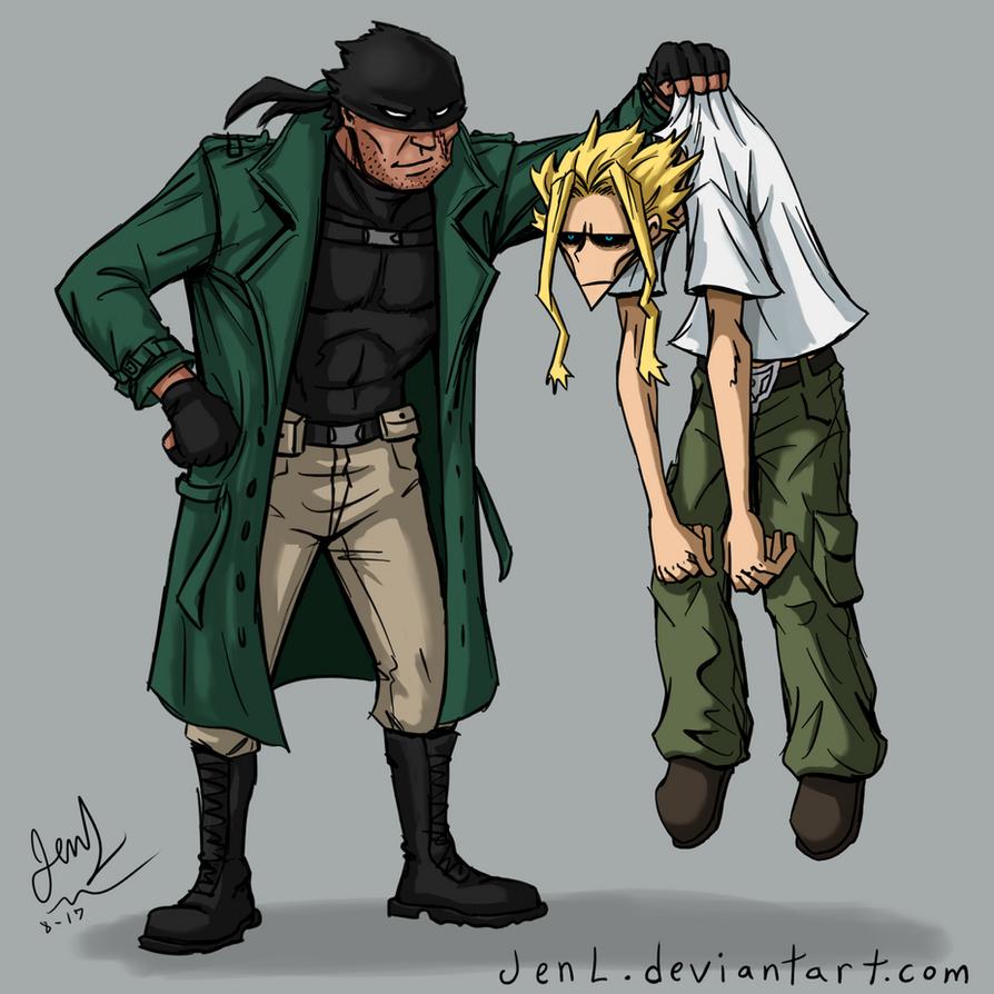 Vigilante meets Hero by JenL