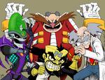Mad Scientists - Villains Revenge