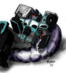 RiD  Scourge on beanbag chair