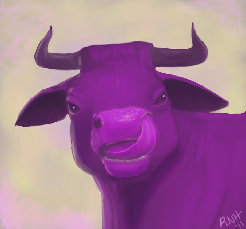 100th deviation: Purple Cow