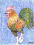 Crayola Rooster by LadyScourgE