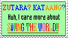 I Don't Care Shipping Stamp by Wishsong214