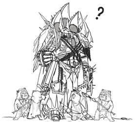 Star Wars vs Warhammer by Solomon-Mordecai