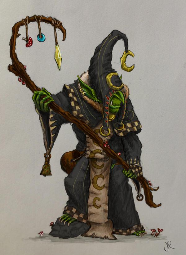 Night Goblin Shaman by Solomon-Mordecai