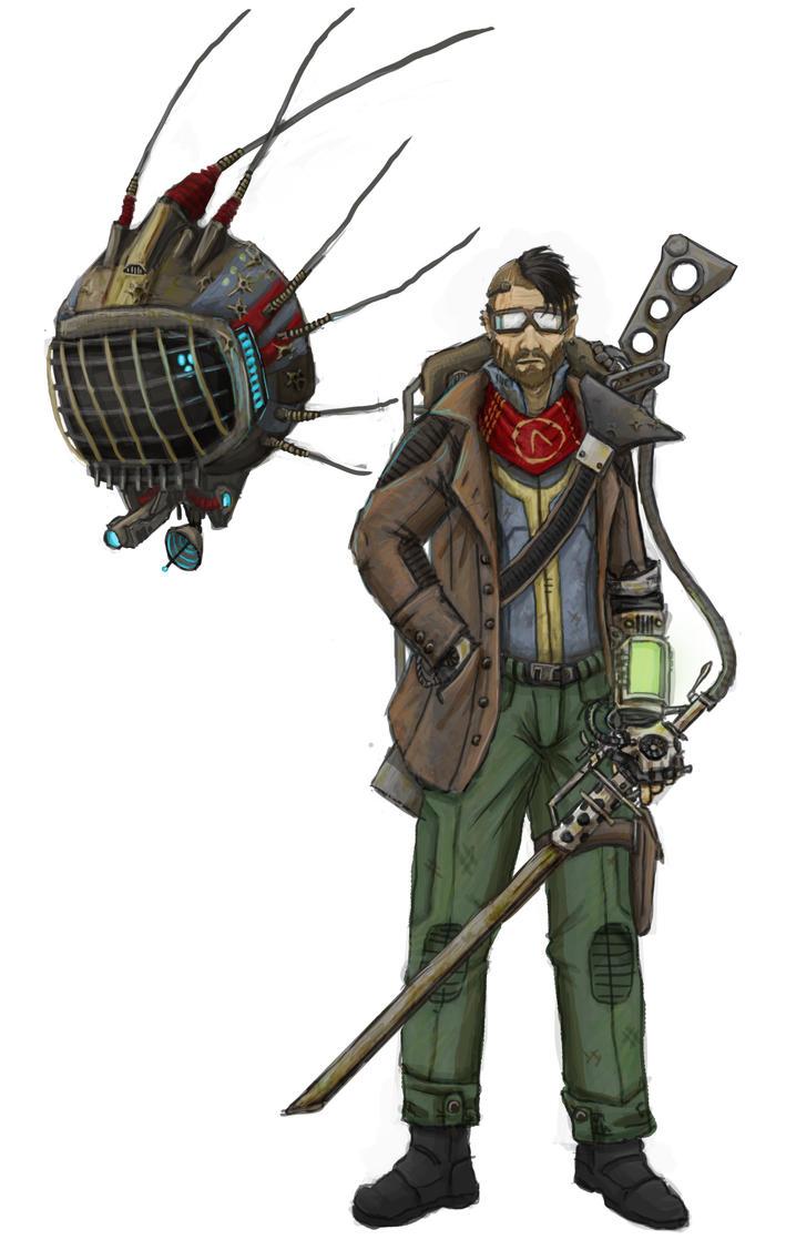 Fallout Wastelander by Solomon-Mordecai