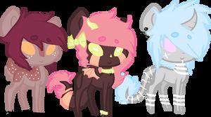 Pony Adopts 8 (OTA) -closed- by ClassyHoAdopts