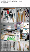 Sculpting tools for Super Sculpey tutorial